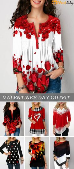 Valentine's day must buy clothes 2019 Mode, alte und neue - 2020 Fru Fru, Trendy Tops For Women, Trendy Fashion, Womens Fashion, Mode Outfits, Sweaters For Women, Fashion Dresses, My Style, Disney Inspired Outfits