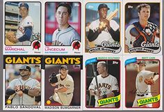 San Francisco Giants 2014 Topps Archives MLB Baseball Series Complete Mint 8 Card Hand Collated Team Set with Tim Lincecum Madison Bumgarner Buster Posey Plus