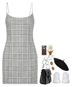 """""""Sans titre #784"""" by mikashh ❤ liked on Polyvore featuring 3.1 Phillip Lim, Alexander Wang, adidas, Kenneth Jay Lane and Apples & Figs"""