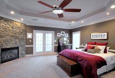 Modern Master Bedroom, Master Bedroom Design, Dream Bedroom, Home Bedroom, Bedroom Decor, Bedroom Ideas, Large Bedroom, Master Bedrooms, Master Suite
