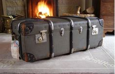 ~Vintage Steamer Trunk~