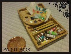 miniature dollhouse paint box2 by Yuki-Myst.deviantart.com on @deviantART