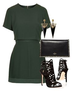Take me to a place I know by lowrilester on Polyvore featuring polyvore, fashion, style, Topshop, Brian Atwood, Valentino and clothing #brianatwood2017
