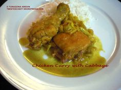 Chicken Curry with Cabbage
