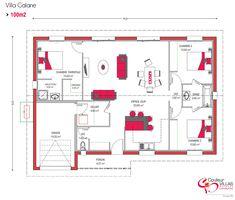 couleur villas vous propose des plans de maison moderne et personnaliss chaque demande de construction - Plan Maison Moderne 100m2