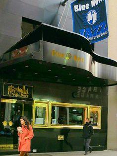 Blue Note Jazz Club, 131 West 3rd Street, New York City. March 13, 2013.
