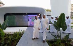 Dubai Future 3D printed