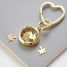 'Love You To Pieces' Keyring by OH SO CHERISHED.
