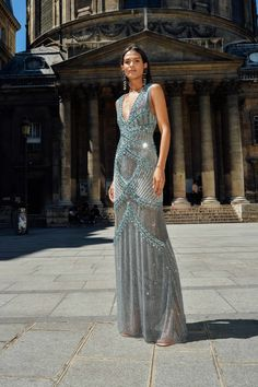 Cucculelli Shaheen - The Neo Classicists Collection Style Couture, Haute Couture Fashion, High Fashion Dresses, Fashion Outfits, 40s Fashion, Evening Dresses, Prom Dresses, Formal Dresses, Award Show Dresses
