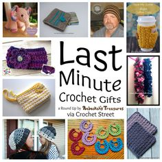 10 Quick Last Minute Gift Crochet Patterns   STOP searching and START making. CrochetStreet.com