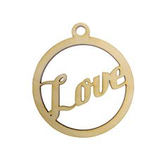Looking for a perfect Love ornament?  This personalized Love ornament is the perfect addition to any Christmas tree.