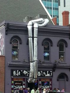 """HVAC Fail! Had to laugh at this one :) www.hwy32hvac.com """"We're not comfortable until you are!"""""""