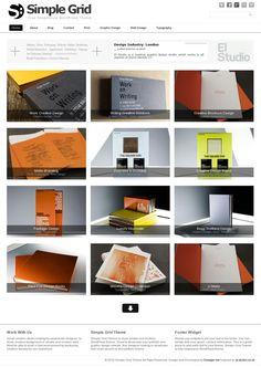 image magazine portfolio grid responsive