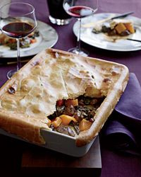 Curried Lamb Potpie Recipe from Food & Wine