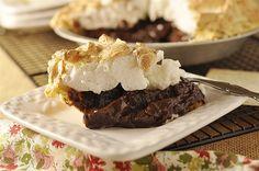 Chocolate Meringue Pie by yourhomebasedmom, via Flickr