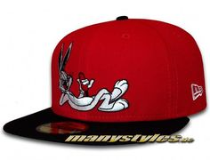 0b62ed41ab9 LOONEY TUNES x NEW ERA「Bugs Bunny」59Fifty Fitted Baseball Cap Fitted  Baseball Caps