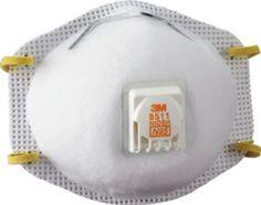 3M Respirador desechable contra partículas con válvula 8511 N95