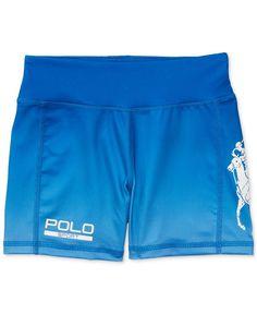 Ralph Lauren Polo Sport Slim-Fit Shorts, Big Girls (7-16)