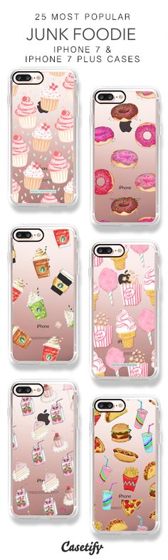 25 Most Popular Junk Foodie iPhone 7 Cases & iPhone 7 Plus Cases here > https://www.casetify.com/collections/top_100_designs#/?vc=sS9Cg47jSx