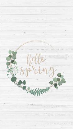 FOND D'ÉCRAN #21 – HELLO SPRING (C'est le printemps !)