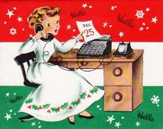 There's always so much to do, and so little time to do it in! :) #vintage #Christmas #cards