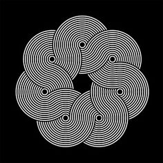 Symmetry Symptom is an online mood board for inspiration and promotion of good design. Focusing on graphic design, photography, architecture, typography,. Art Optical, Optical Illusions, Op Art, Graphic Art, Graphic Design, Graphic Patterns, Poster S, Illusion Art, Art Graphique