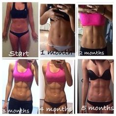 How abs are built - it's not just eating right, but consistent core workouts - great motivation to build abs! Fitness Workouts, Sport Fitness, Fitness Goals, At Home Workouts, Health Fitness, Core Workouts, Fitness Weightloss, Weight Workouts, Health Club