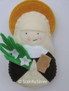 Saint Catherine of Siena Felt Saint Softie