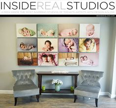 Today we're taking a peek inside the beautiful studio of Angela McLaughlin of Tiny Touch Photography. In what kind of space is your studio located, and where? C