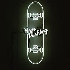 David B Anthony #art #neon #black&whithe #DonneVincenti #tagforlikes #igersforart