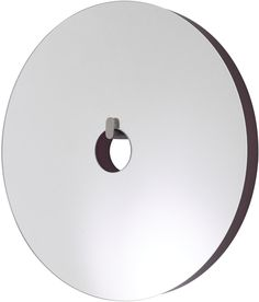 MIRROR: URA, Entry - Small version : Wall mirror in multi-ply with edge finished in rouge noir lacquer. Mirror Inspiration, Design Inspiration, Ligne Roset, Room Planner, Brushed Stainless Steel, Icon Design, Designer, Entrance, Entryway
