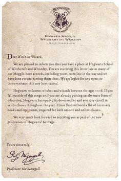 École Harry Potter, Magia Harry Potter, Harry Potter Letter, Classe Harry Potter, Mundo Harry Potter, Harry Potter Tumblr, Harry Potter Pictures, Harry Potter Universal, Harry Potter Acceptance Letter