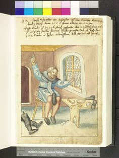 Calzolaio, stivali Amb. 317b.2° Folio 15 recto