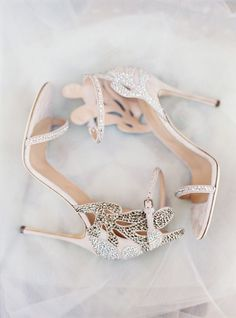 Sergio Rossi heels: http://www.stylemepretty.com/2015/06/16/wedding-day-shoes-worth-showing-off/ Wedding Shoes // Aisle Perfect