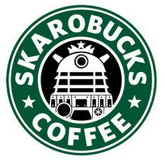 Skarobucks – Doctor Who Starbucks Mashup – Wallpapers | coregeek