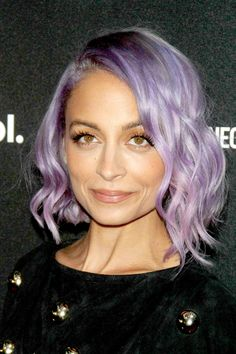 Modern Beauty Looks Bound To Become Classics #refinery29 Not-So-Natural Hair Color Out-of-the-ordinary hair color is no longer a result of a dye job gone wrong: It's a style choice being made by everyone from Katy Perry to Nicole Richie. We're particularly smitten with Richie's lavender locks. Her look is modern, feminine, and — if we have our way — a taste of the boundary-busting beauty we hope to see years down the road.
