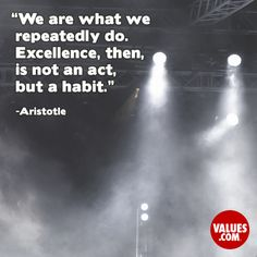 An inspiring quote about #practice from www.values.com #dailyquote #passiton