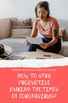 With panic around and lots to do at home , how can a work from home mom stay productive? Here are some tips. Work From Home Tips, Home Hacks, Productivity, Health And Wellness, Mom, Health Fitness, Mothers