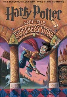 Harry Potter And The Sorcerer's Stone, Book 1 of the Harry Potter Series By J.K. Rowling  #books #movies #yalit