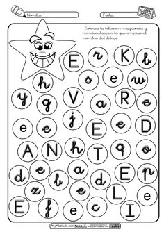2. ejercicios totales vocales 2 Language Activities, Worksheets, Fails, Preschool, Education, Google, Writing, Reading, Alphabet