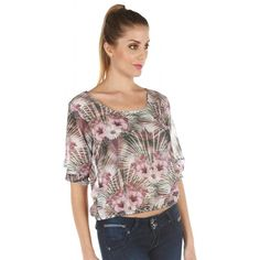 Compra GIGI RIVA - Blusa Mujer Gasa Flores - Palo Rosa online ✓ Encuentra los mejores productos Blusas Mujer GIGI RIVA en Linio Perú ✓