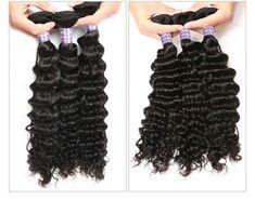 【Fashion Hairstyle For Black Girls】Allovehair Boutique Peruvian Deep Wave Virgin Human Hair Bundles sew in hair extensions Sew In Hair Extensions, Hair Weft, Virgin Hair, Weave Hairstyles, Black Girls, Wave, Boutique, Hair Styles, Fashion