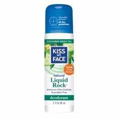 Buy Kiss My Face Liquid Rock Deodorant Roll-On, Cucumber Green Tea with free shipping on orders over $35, low prices & product reviews | drugstore.com