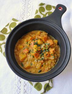 Curry potimarron lentilles corail  Pascale Weeks