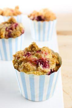 Muffins au Sirop d'Érable, au Framboises et au Yogourt