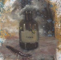 Codex Corruptionis, 2013, olio su tela, 30 x 30
