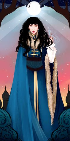 waricka:i'm pretty sure someone said i should draw zoya as well??? yes i read your tags lbardugo when will i stop drawing your characters???? Oh please never stop. This is perfection.