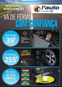 Folheto E.Leclerc - Tecnologia e Segurança l'auto E.Leclerc - até 29 de junho