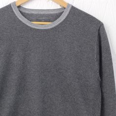 Peter Werth Orsk Knitted Sweater (Silver Marl) – New-Entry Clothing #peterwerth #knitwear #newentrystore