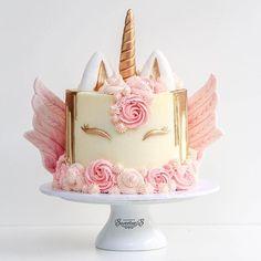 Rainbow Birthday Party, Unicorn Birthday Parties, Unicorn Party, Unicorn Cakes, Cake Birthday, Cupcakes, Cupcake Cakes, Gorgeous Cakes, Amazing Cakes